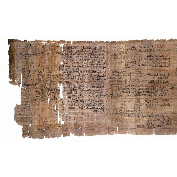 The beginning of the Papyrus